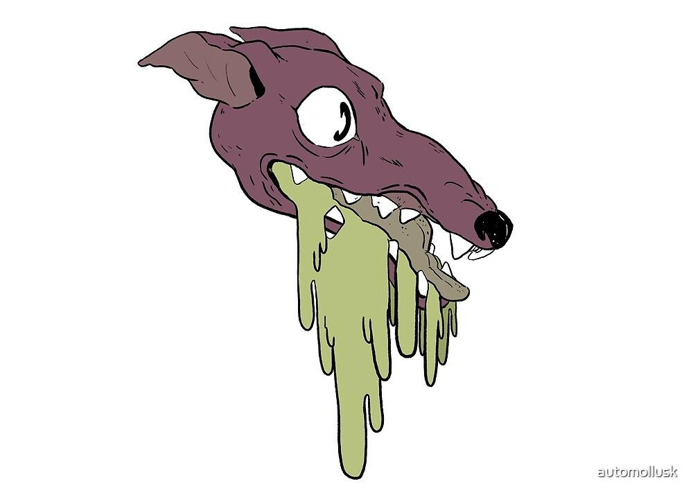 Barf Dog by automollusk
