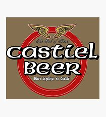 Brewhouse: Castiel Beer Photographic Print