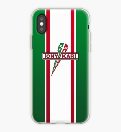 Tony Kart iPhone Case
