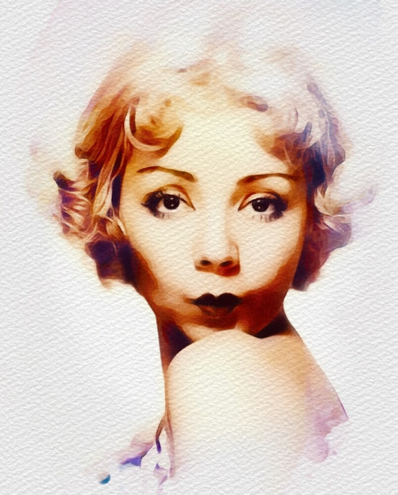 Alice White, Vintage Actress by SerpentFilms