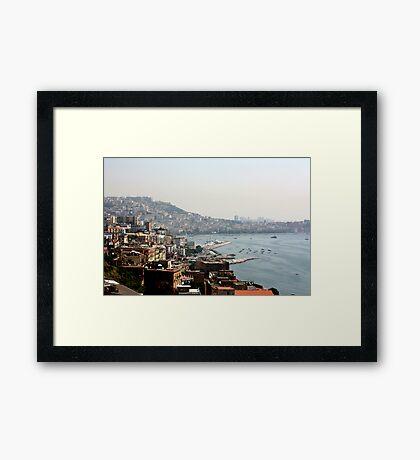 The Bay of Naples Framed Print