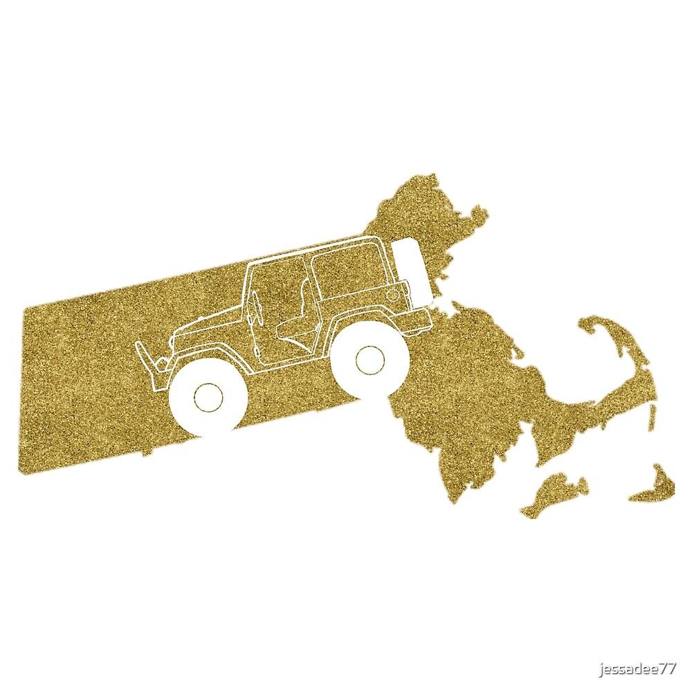 Jeep State MA Gold by jessadee77