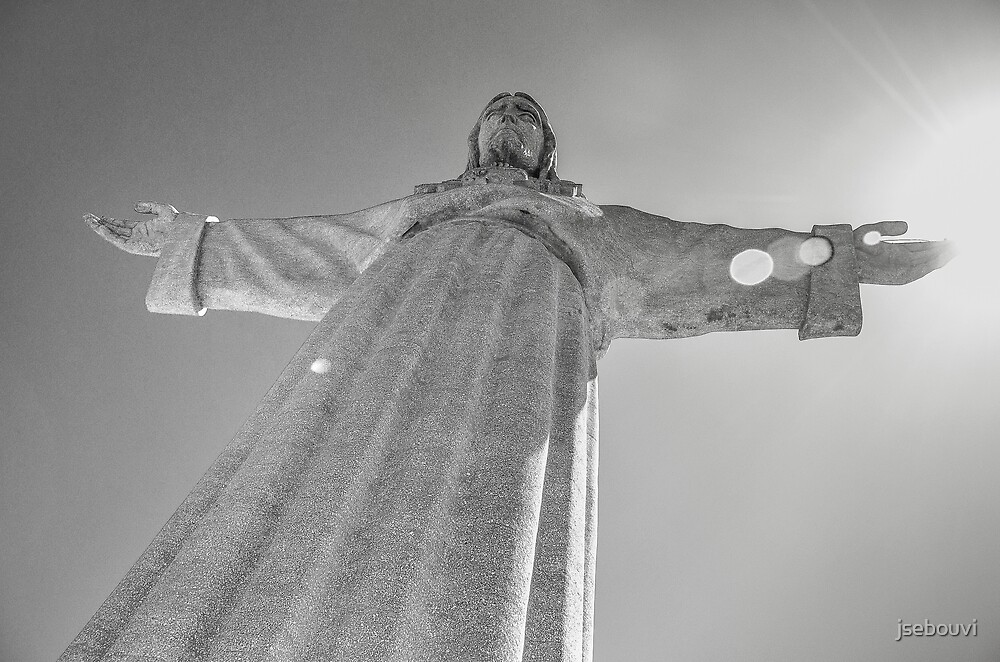 Christ the King, Almada, Lisbon by jsebouvi