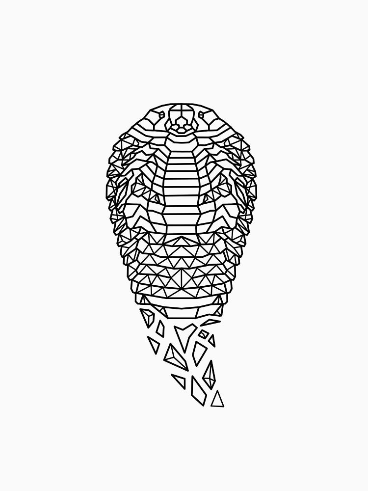 Snake Cobra Geometric as Geometric by FrediWicht