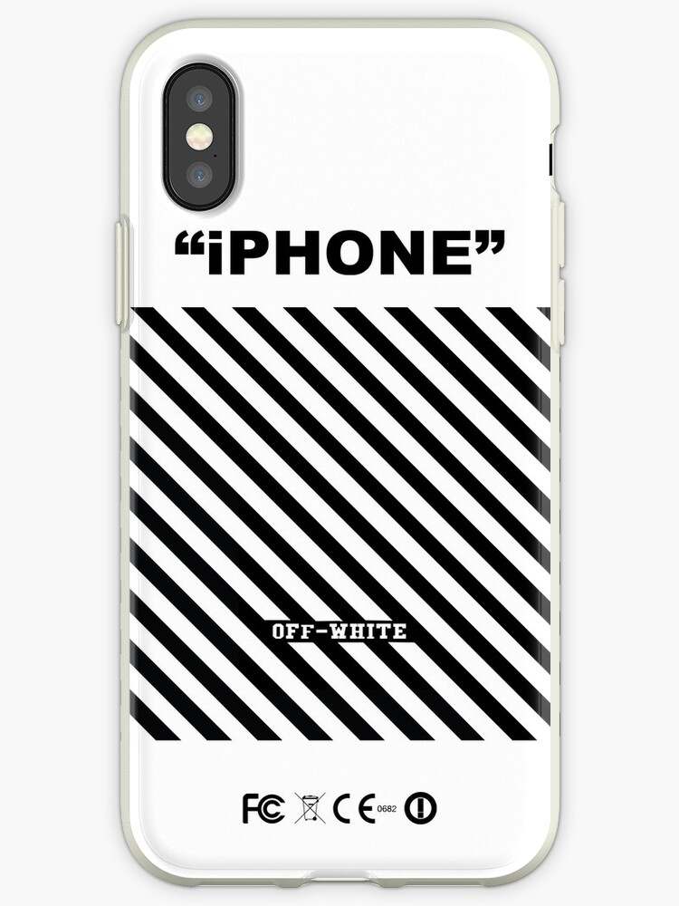 iPhone Off White by SachikoBurgess