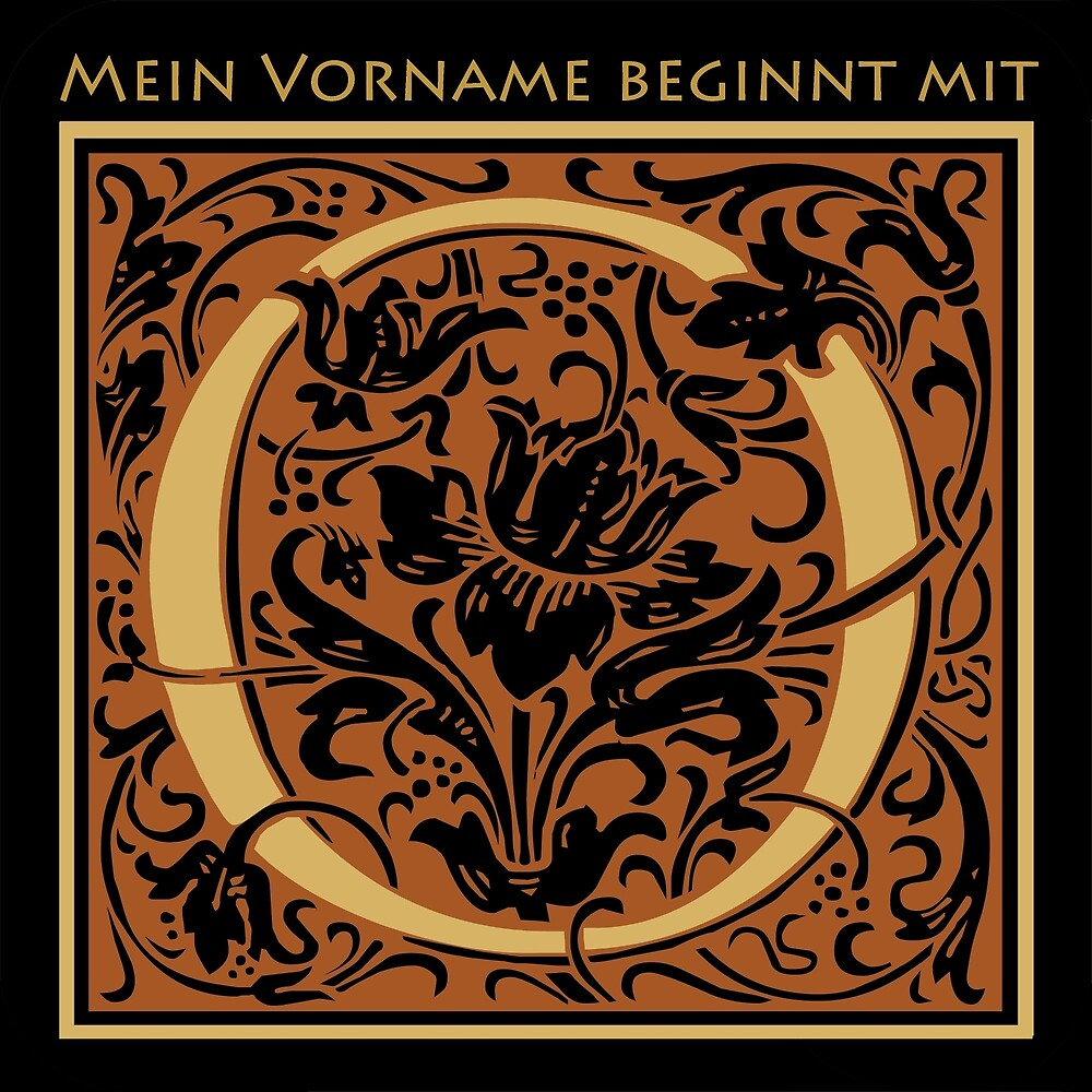First name with O by Dirk h. Wendt