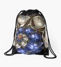 Sphere and Bowl Spiral 2 Drawstring Bag