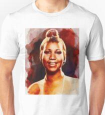 Aretha Franklin, Music Legend Unisex T-Shirt