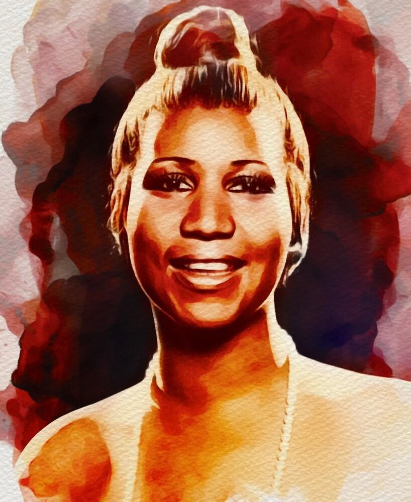 Aretha Franklin, Music Legend by SerpentFilms