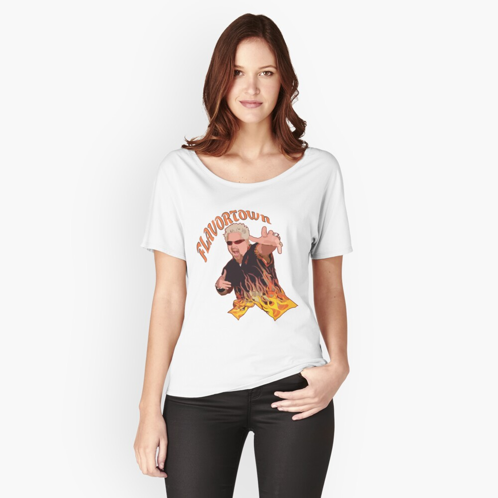 Guy Fieri Flavortown Relaxed Fit T-Shirt