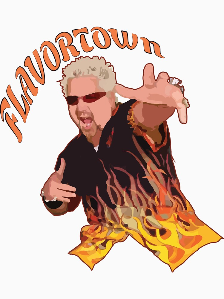 Guy Fieri Flavortown by srucci