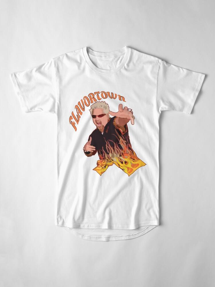 Alternate view of Guy Fieri Flavortown Long T-Shirt