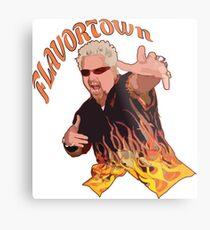 Guy Fieri Flavortown Metallbild