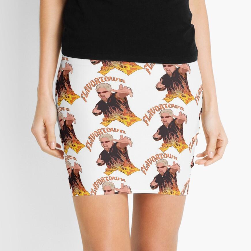 Guy Fieri Flavortown Mini Skirt