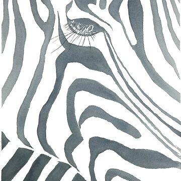 Zebra by shashaluart