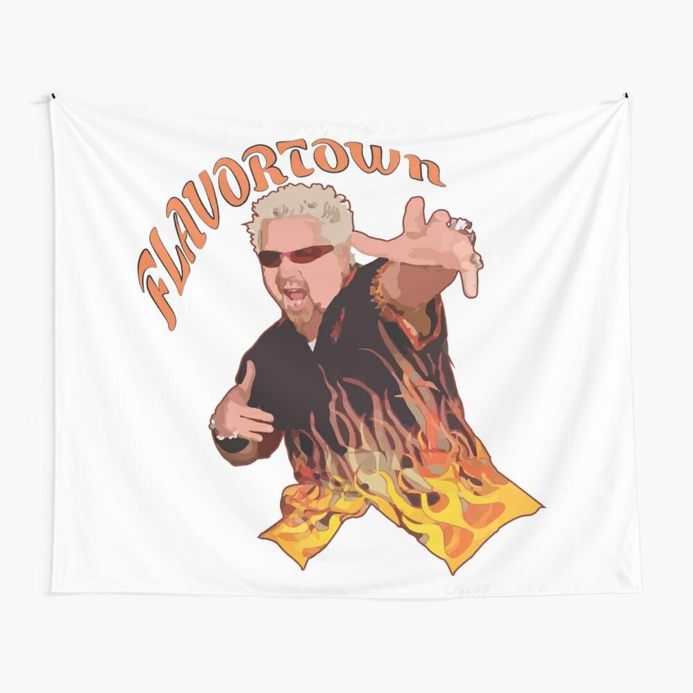 Guy Fieri Flavortown Wall Tapestry
