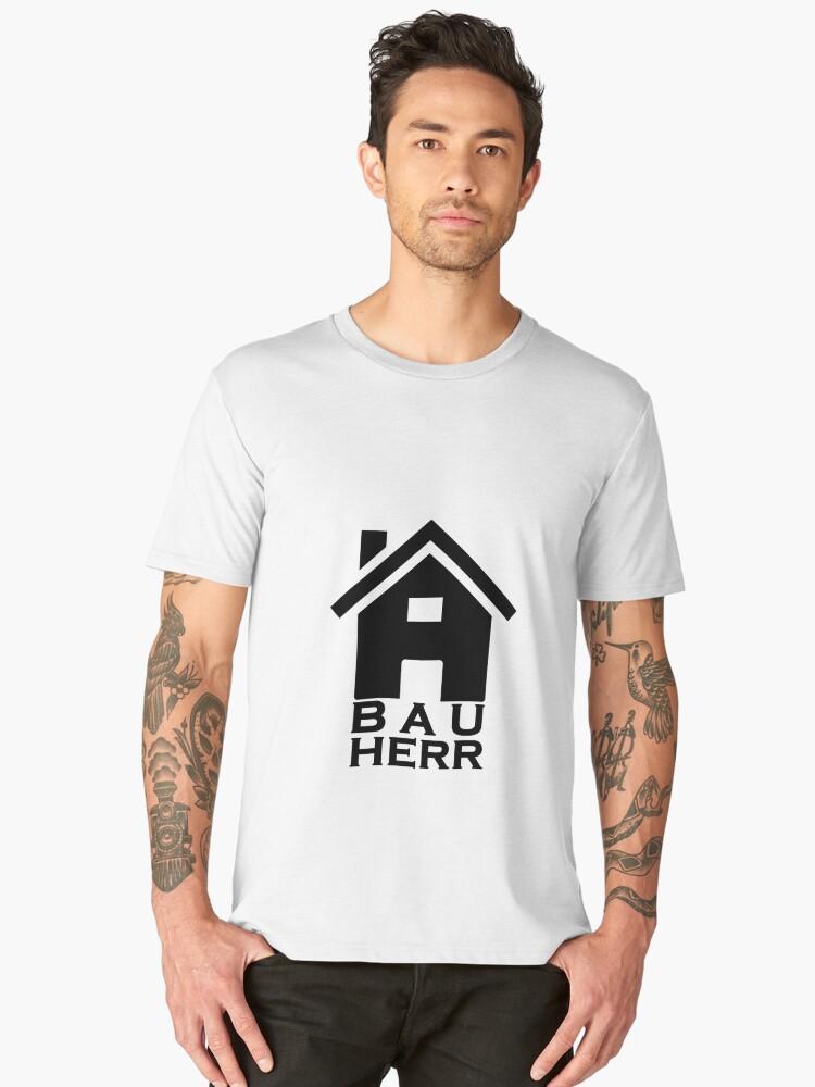 builder Men's Premium T-Shirt Front