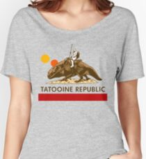 Combat Vehicle Raptor Tatooine Women's Relaxed Fit T-Shirt