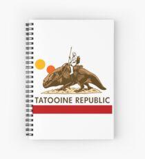 Combat Vehicle Raptor Tatooine Spiral Notebook