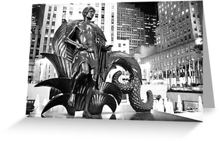 Rockefeller Center 'Youth' Monument, New York City by ShahemaTafader