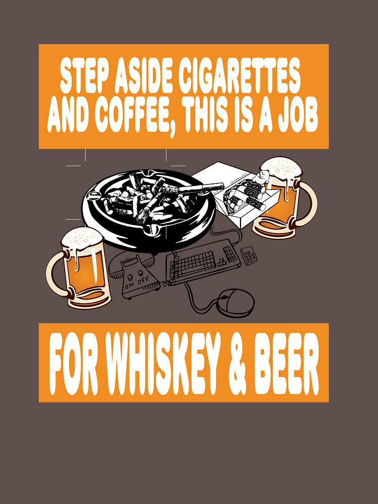 Path to success, Whiskey and beer, gift idea present by rsdhito77