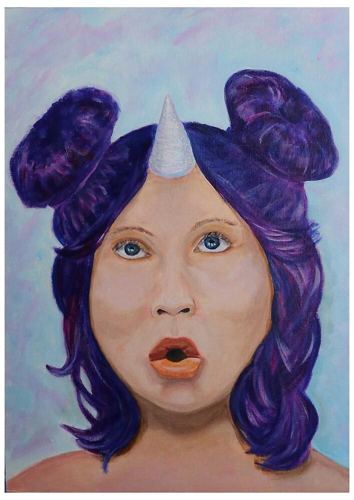 The Art Sherpa Unicorn  by Tartantaz