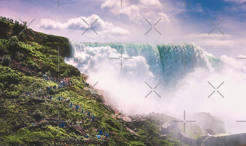 American Falls by zouhair lhaloui