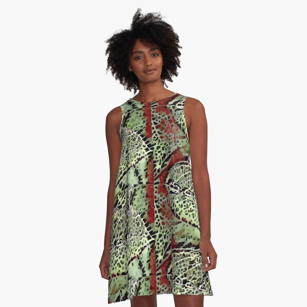 Leaf Creation A-Line Dress Front