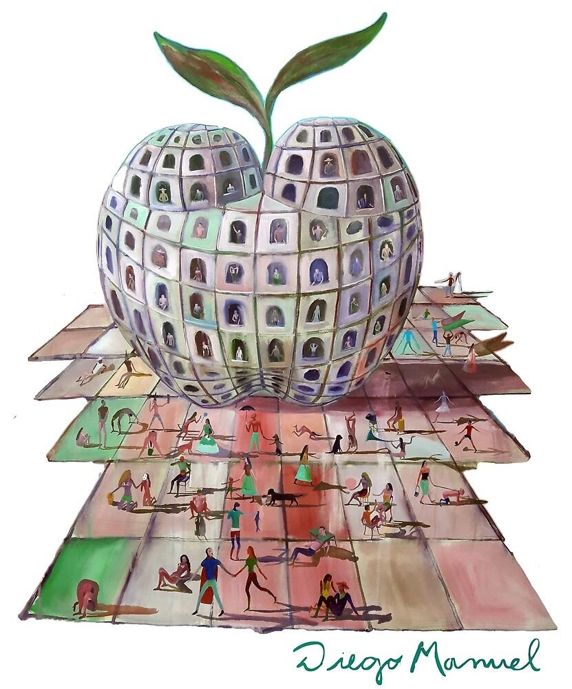 Big Apple by Diego Manuel Rodriguez