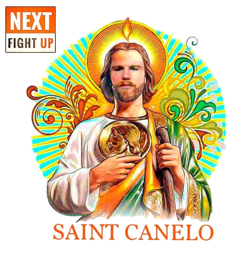 Saint Canelo - Pray For Us by nextfightup