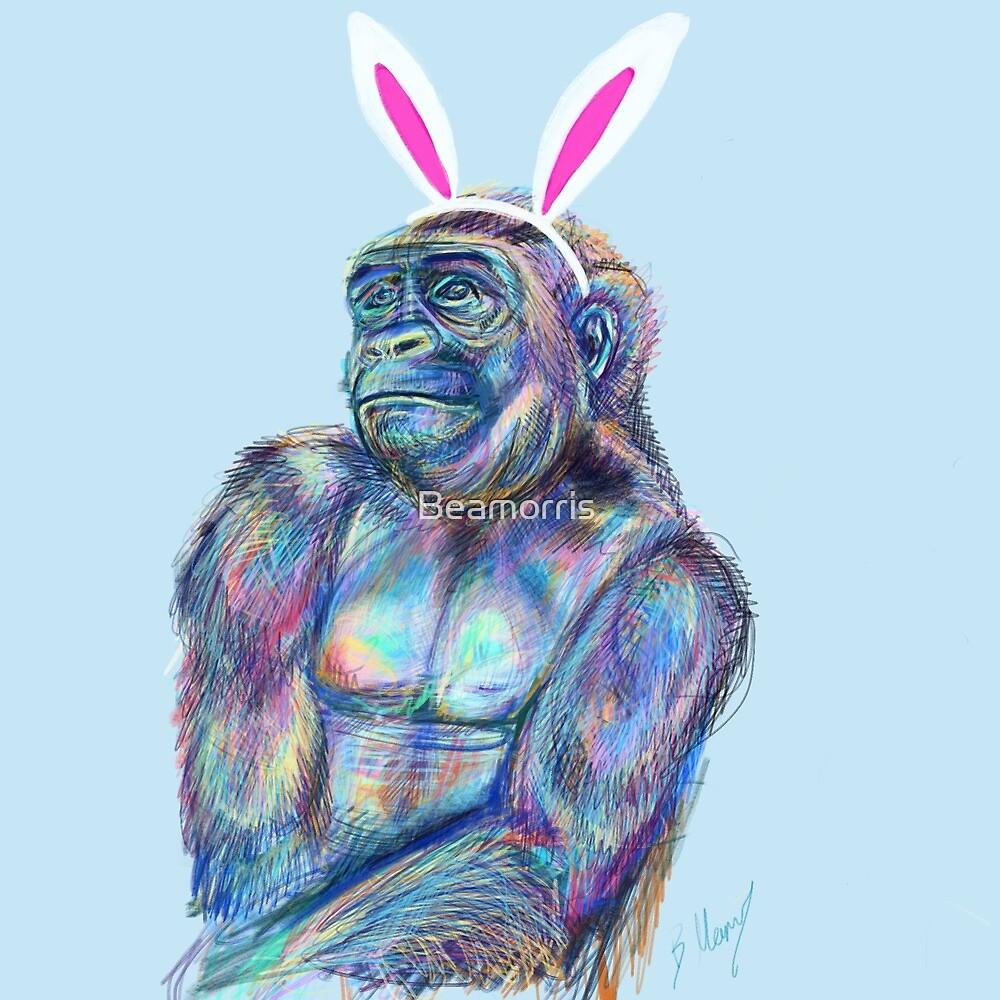 Pretty monkey  by Beamorris
