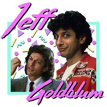 80s Jeff Goldblum by ellentwd