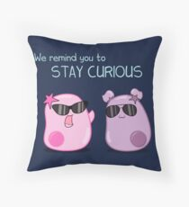 Stay Curious! with the Amoeba Sisters Throw Pillow