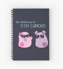 Stay Curious! with the Amoeba Sisters Spiral Notebook