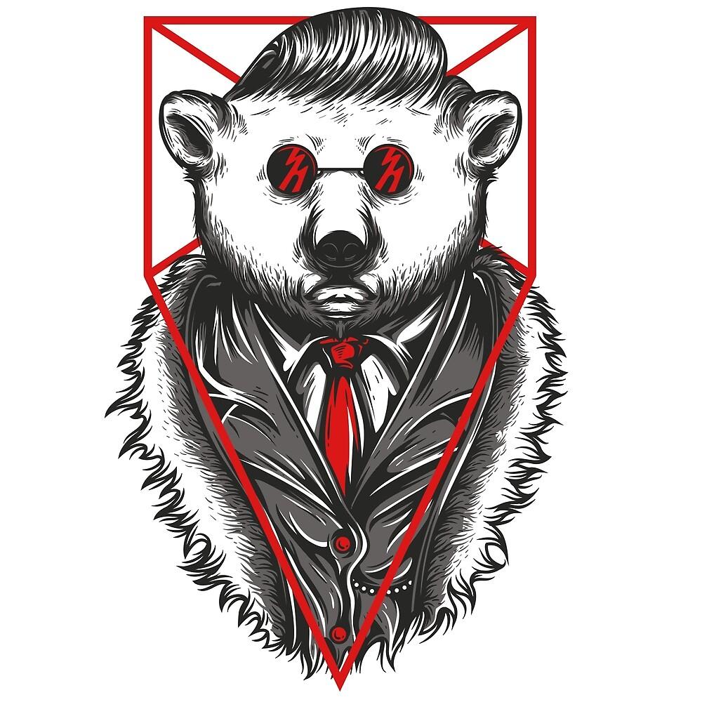 mr polar bear by retro-gamer
