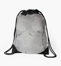 Nude Drawstring Bag
