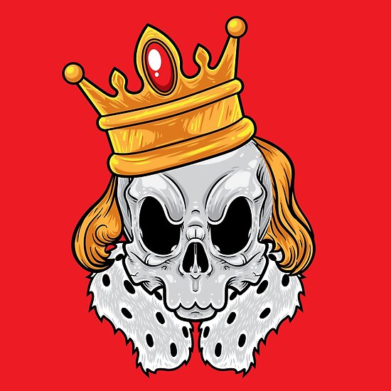 Skull King by TomCage