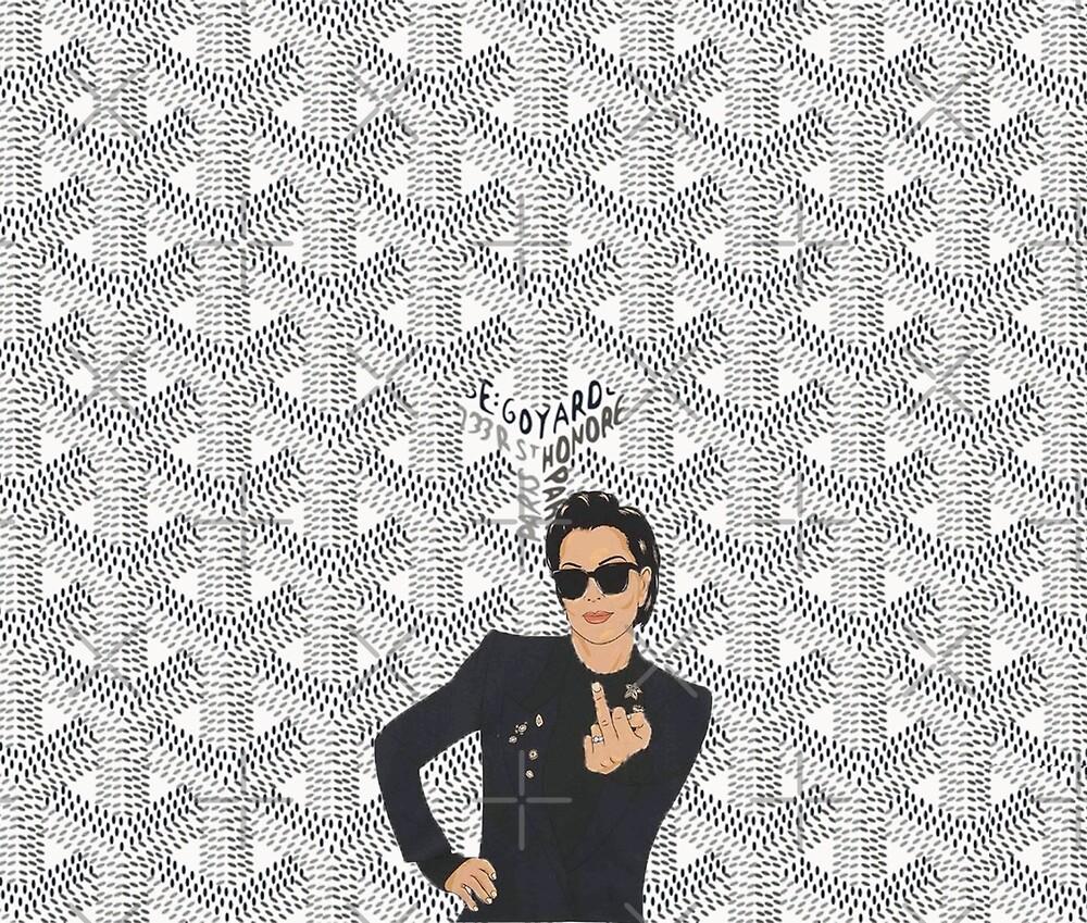 White KJ - Goyard goy bosok by OliviaBBlack