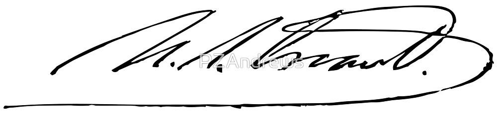 Signature of Ulysses S. Grant by PZAndrews