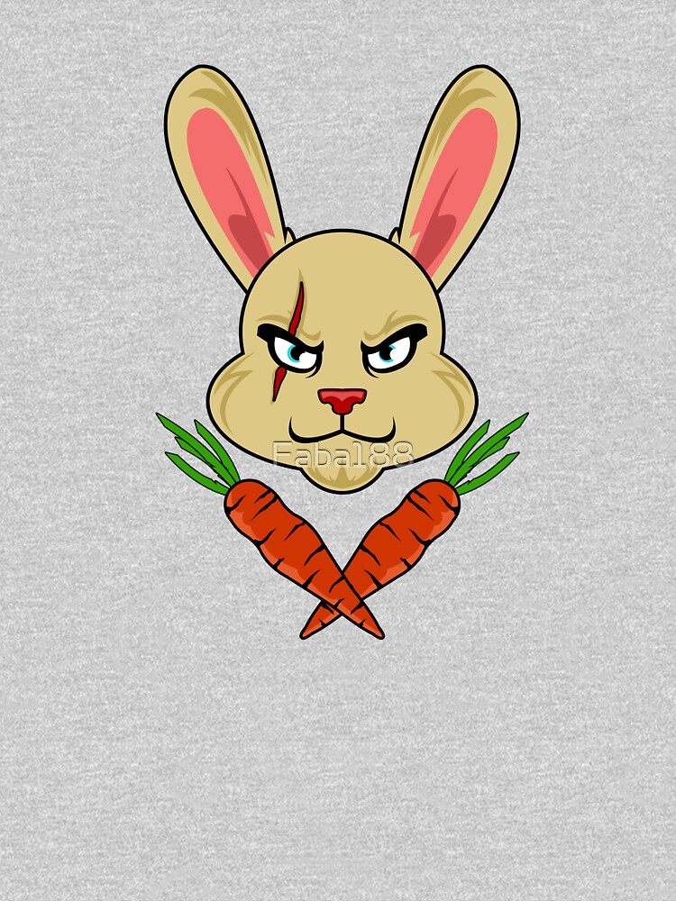 SKULL AND BONES BUNNY CARROTS HAPPY EASTER DECORATION SHIRTS by Faba188