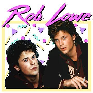 80s Rob Lowe by ellentwd