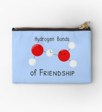 Hydrogen Bonds of Friendship Studio Pouch