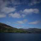 A Cloudy Sky across the Loch in the Highlands by ZoraMarie
