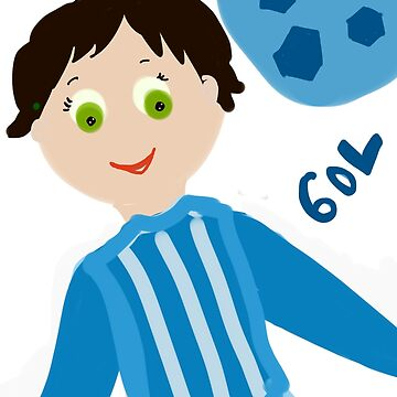 Blue Goal by Solfloy