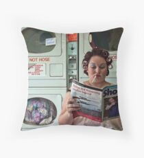 Washing Day Throw Pillow