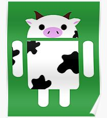 Droidarmy: Who let the cows out? Poster