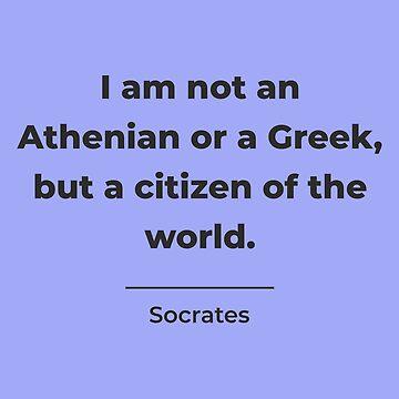 Citizen of the World, Socrates by DesignByLGA