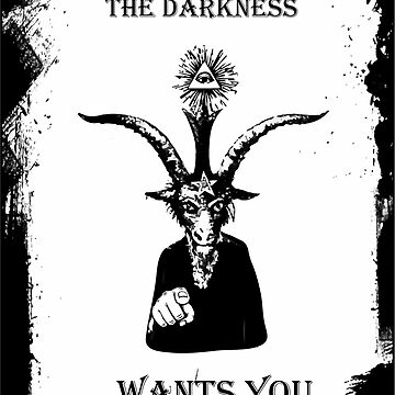 Baphomet Occult FunnyThe Darkness wants you by arrowroottees