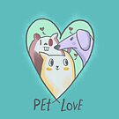 Pet Love #Chill by INKfootprints