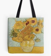 Vincent van Gogh's Sunflowers Tote Bag